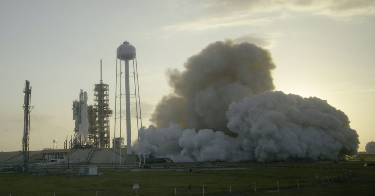 SpaceX performs static fire