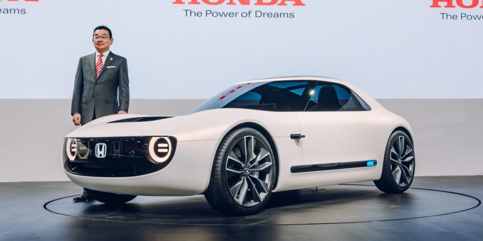 Honda is working on 15-minute charging for its upcoming electric ...