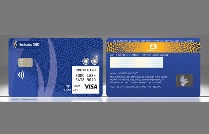 Emirates NBD and Dynamics launch first wallet card in UAE