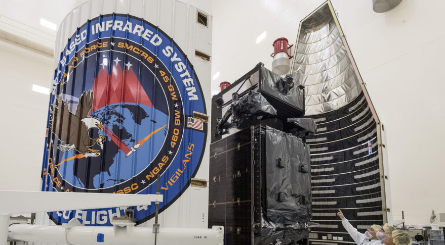 U.S. missile-warning satellite