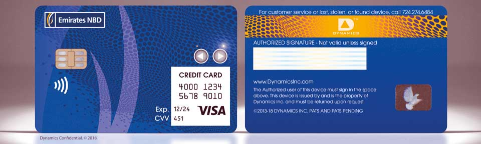 interactive payment cards in UAE