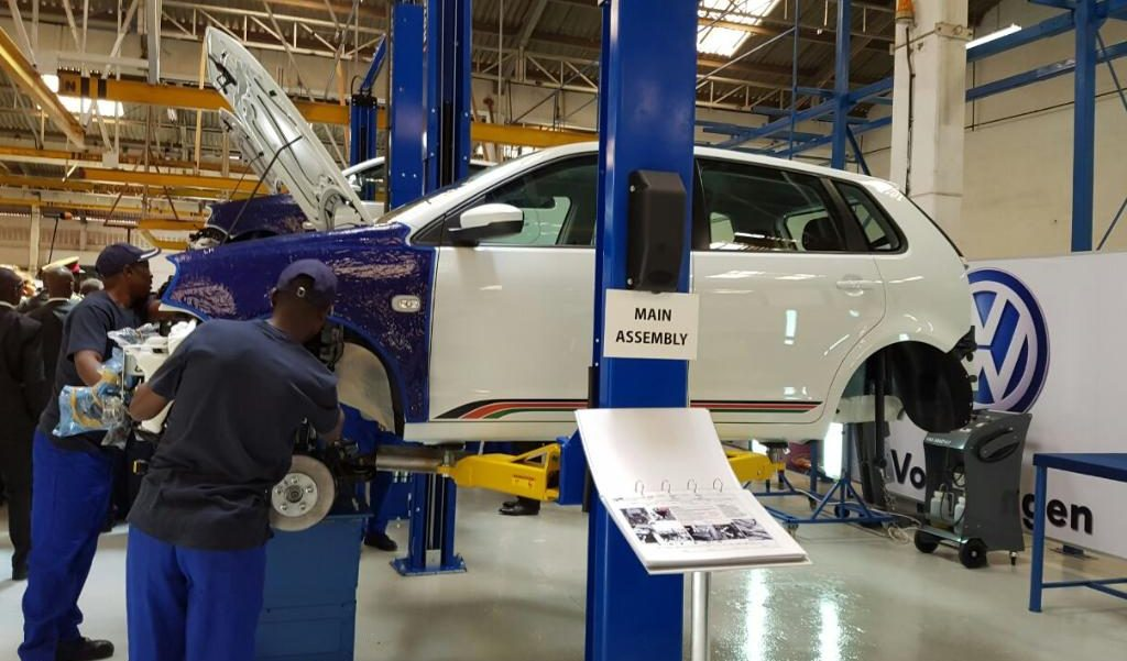 vw production africa 2