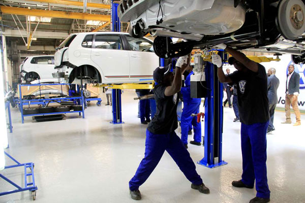 vw production africa