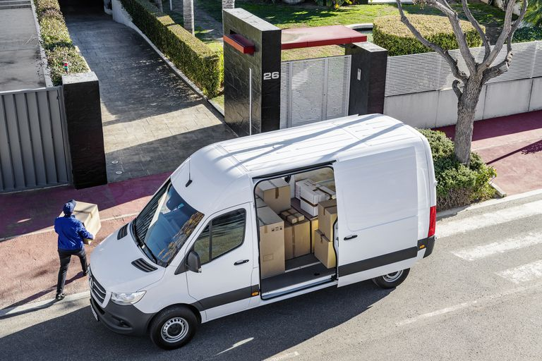 Mercedes-Benz Electric Sprinter Van 2