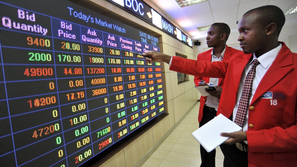 Trading At The Nairobi Securities Exchange