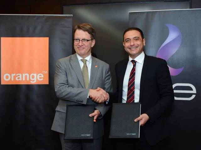 Telecom Egypt signs agreement with Orange Data to provide bitstream services