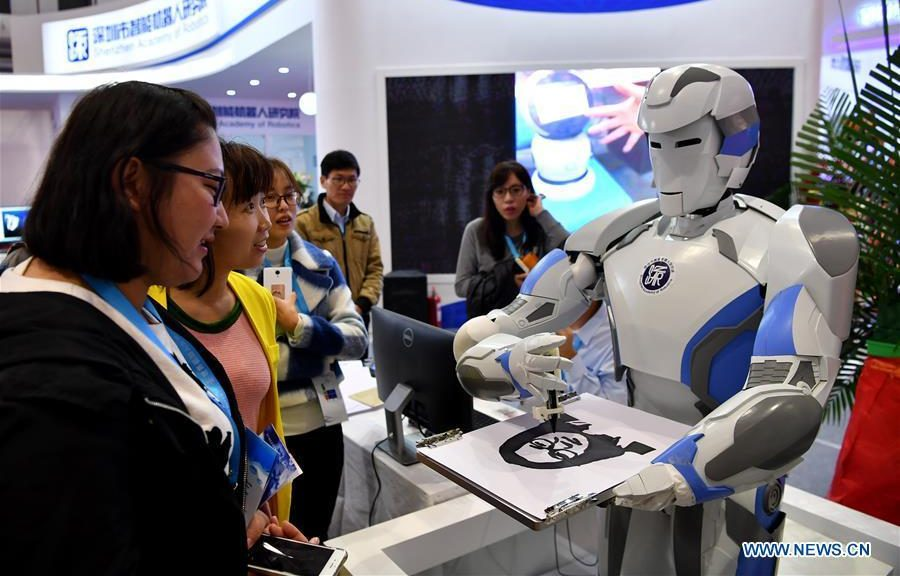 technology industry robots