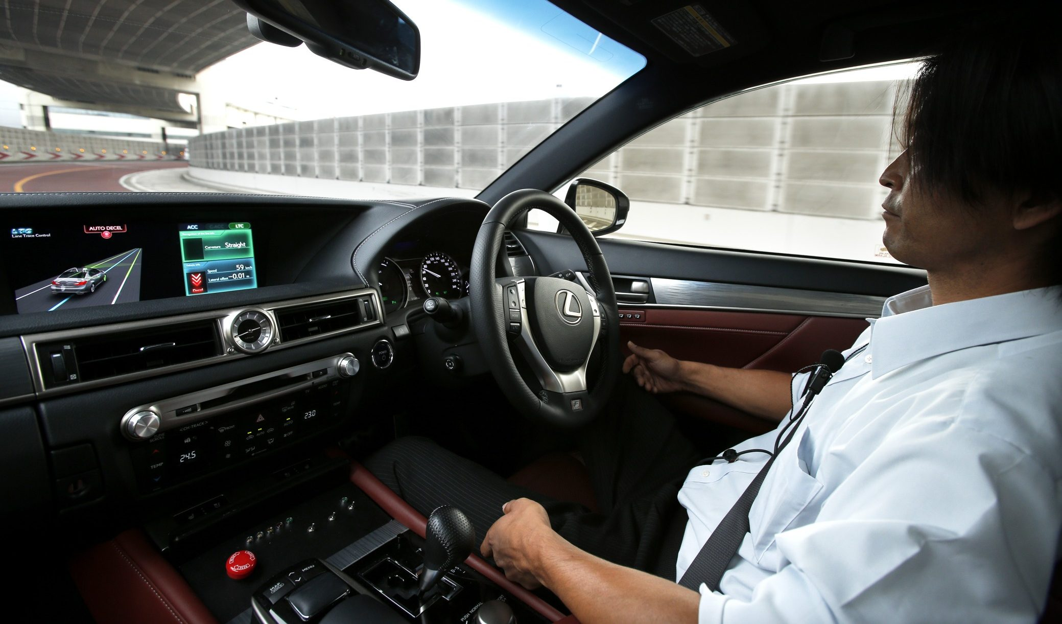 Toyota Motor Corp. Demonstrates Next-generation Advanced Driving Support System
