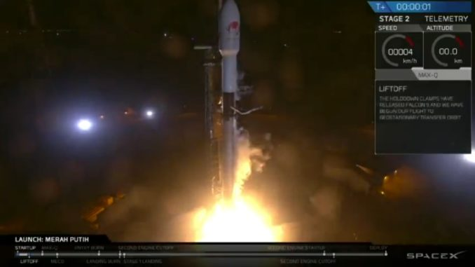 space x indonesia launch