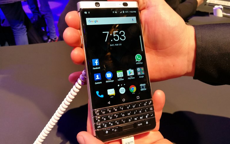 CheckOut the BlackBerry KEYone: The 100% BlackBerry Android