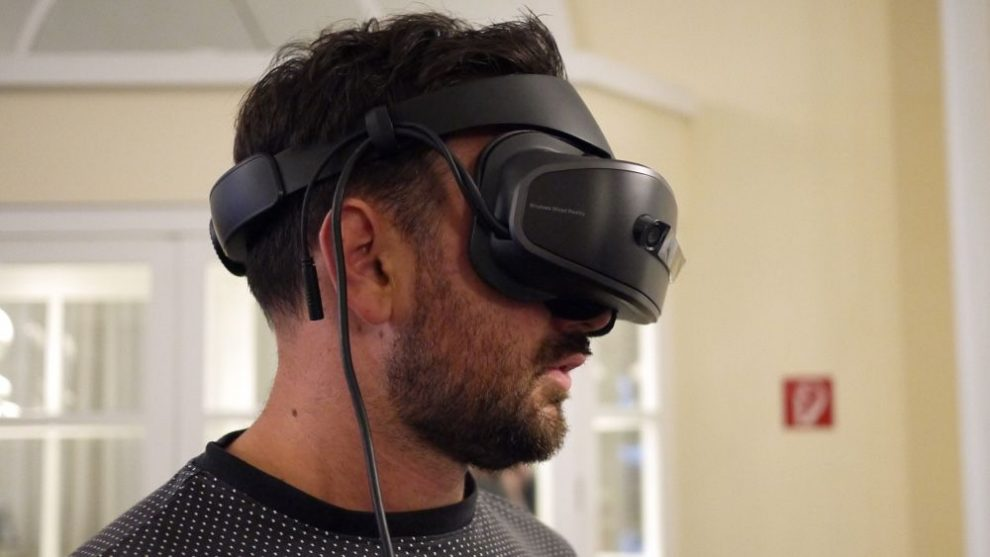 92b79ad74e3b Lenovo Explorer first look  Lightweight headset joins Windows Mixed Reality  party
