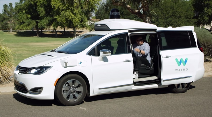 Waymo unveils first operating US driverless taxi service